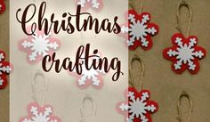Christmas crafting - shabby chic christmas crafts