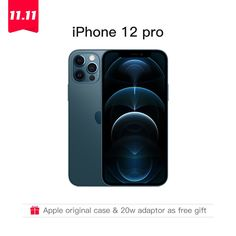 """Authentic Original Brand New iPhone 12 Pro/Pro Max 5G 6.1/6.7"""" XDR Display with Original Adaptor as Gift IOS 14 Smartphone wallpaper iphone,iphone 11,iphone hacks,blue wallpaper iphone,widgets iphone,iphone 12,iphone xr,iphone widgets aesthetic,iphone 11 pro,green aesthetic wallpaper iphone,app organization iphone,latest mobile phones smartphone,best mobile phone smartphone,latest phones smartphone,cheap smartphones,new mobile phone smartphone,smartphone technology,smartphones for sale"""
