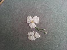 my work / 천연염색 광목