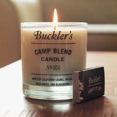 Buckler's Camp Blend Candle.