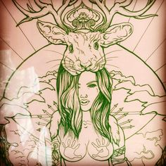 Art by tattoo artist Cieara Elizabeth Kendall