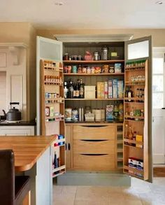 53 Mind-blowing kitchen pantry design ideas | Diy kitchen storage ...