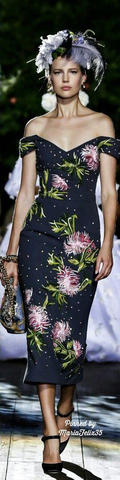Dolce & Gabbana Fall Alta Moda Collection Highlights 2015