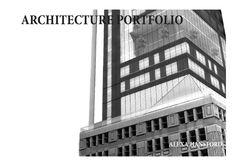 Alexa Hansford Architecture Portfolio Syracuse University School of Architecture