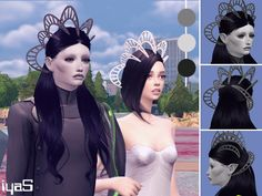 The Sims Resource: Alien Crown by Soloriya • Sims 4 Downloads