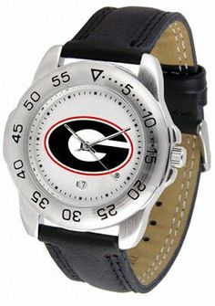 Georgia Bulldogs Women's Gameday Sport Watch by SunTime. $51.99. This Georgia Bulldogs watch comes with a date calendar function plus a rotating bezel - timer circles the scratch-resistant crystal. Women's Sports Watch Durable strap Scratch resistant crystal Rotating timer Quartz accurate movement Officially licensed This Product Makes a Great Holiday Gift!
