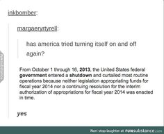 has america tried turning itself off and back on again?