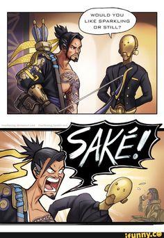 Hanzo and genji #funny #overwatch #cosplay #costume