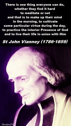 """quote of the day & Quote of the Day – 26 February 2018 – Monday of the Second Week of Lent """"T. - most beautiful quotes ideas Catholic Quotes, Catholic Prayers, Catholic Saints, Religious Quotes, Roman Catholic, St John Vianney, Holy Quotes, Jean Marie, Saint Quotes"""
