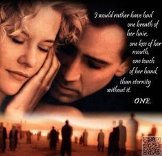 30. City of #Angels - 33 of the Most Famous, #Romantic Movie #Quotes ... → #Movies #Bride