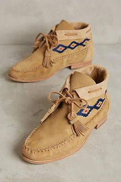 The Sagebrush Moccasin Bootiesare the perfect suede ankle boots for any fall…