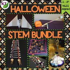 Looking for more Halloween activities? Check out my Halloween STEM Challenge bundle. Combine science, technology, engineering, and mathematics for hands-on, engaging learning (disguised as fun)! Fun Halloween Activities, Halloween Science, Halloween School Treats, Holiday Activities, Stem Activities, Easy Halloween, Halloween Themes, Thanksgiving Activities, Halloween Projects