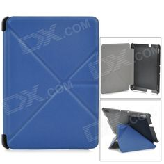 Color: Dark Blue + Black; Brand: N/A; Quantity: 1 Piece; Material: PU leather + PC; Compatible Brand: Others,Amazon; Compatible Size: 7 inch; Style: Fashion; Compatible Model: Kindie Fire HDX 7; Type: Leather Cases; Other Features: The cover can be transformed into a cool stand, ideal for watching videos, playing games etc; Protects your device from scratches, dust and shock; Packing List: 1 x Protective case; http://j.mp/1oTRmSi