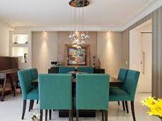 Resultado de imagem para sala de jantar de luxo moderna