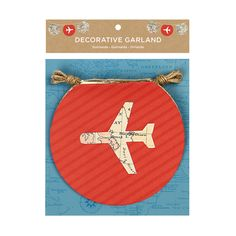 Bon Voyage  Decorative Garland
