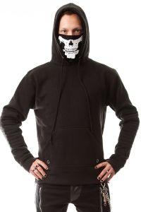 Vixxsin - Kapuzen Pullover mit Skull Schalkapuze - Vanish Hood