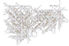 Discrete mega structure, part of the research for Tallinn Architecture Biennale Pavilion #architecture #gillesretsin #tallinn #discrete #design #nextarch