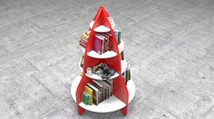 Rocket Bookshelf by Budrum Design - 3D max/Vray
