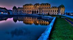 Belvedere - Vienna, Austria, I lived a few blocks away from this Vacation Places, Dream Vacations, Vacation Spots, Salzburg, Oh The Places You'll Go, Places To Visit, Vacation Pictures, Future Travel, Architecture