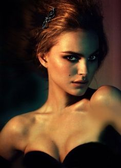 natalie portman, beautiful no matter what, but obviously here.