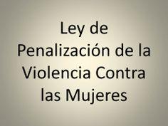 Ley de personalización de la violencia contra las mujeres