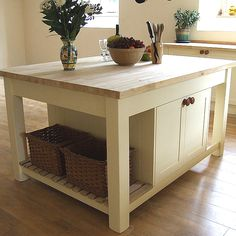 9 freestanding kitchen islands for every style white oak