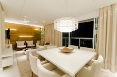 Sala de Jantar empreendimento Grand Parc Residencial #ES / Grand Parc Residencial Dinning Room