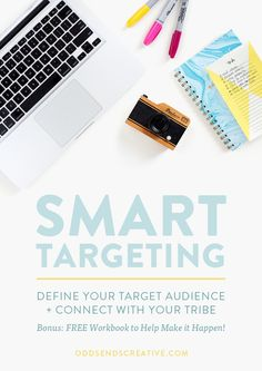 Smart Targeting: Defining Your Audience Not much can guarantee failure more… Creative Business, Business Tips, Online Business, Craft Business, Marketing Digital, Online Marketing, Media Marketing, Content Marketing, Influencer Marketing