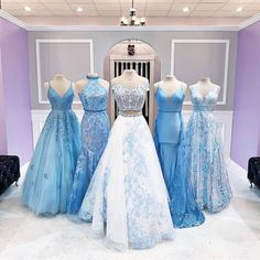 The prom 2020 is coming and now it's time to pull together the whole look. We've shared some ideas for accessories and makeup, but sometimes the best ideas come Hoco Dresses, Beautiful Prom Dresses, Pageant Dresses, Quinceanera Dresses, Dance Dresses, Pretty Dresses, Casual Dresses, Wedding Dresses, Prom Dress Shopping