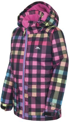 Trespass Girl's TP50 Marnie Ski Jacket : Sports & Outdoors