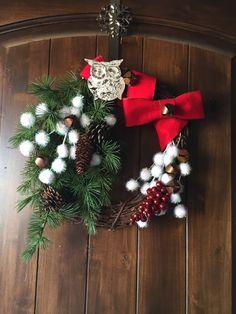Home made wreath. Love it.