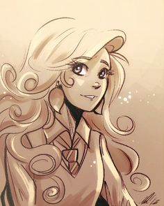 Sketch commission for Alex - he asked for Luna Lovegood, so here you are!