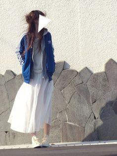 hiro ☺︎さんの「【adicolor】オリジナルス トラックトップジャージ[SS TRACK TOP](adidas)」を使ったコーディネート