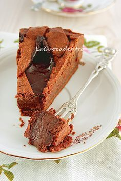 This one is a keeper! The crust itself can be baked into cookies, it's THAT good! Crostata al Cioccolato. Sweets Recipes, Cake Recipes, Confort Food, Chocolate Dreams, Sweet Cakes, Chocolate Desserts, Cupcake Cakes, Sweet Treats, Baking
