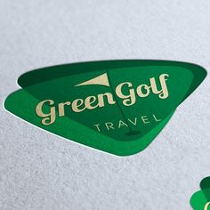 Green Golf Travel by Renata S Unique Business Cards, Professional Business Cards, Business Card Logo, Golf Travel, Travel Logo, Golf Holidays, Facebook Cover Design, Custom Logos, Logo Design
