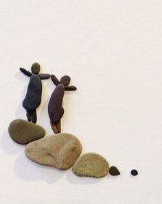 Pebble art of Nova Scotia by sharon Nowlan