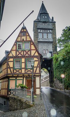 Altstadt Tower, Bacharach - Germany
