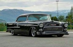 55 Chevy Belair Hardtop