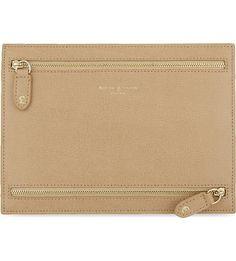 ASPINAL OF LONDON Multi currency deer leather wallet (Deer