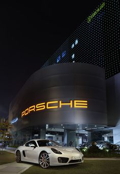 Porsche showroom-Singapore