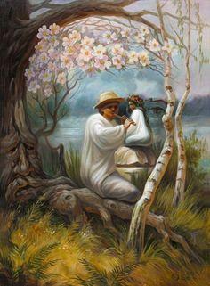 Ukrainian artist. Shuplyak  Oleg - Forest Song. Lesya Ukrainka / Шупляк Олег - Лісова пісня. Леся Українка