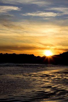Puesta en Doniños / Doniños Sunset  Photo: Eugenio Prados