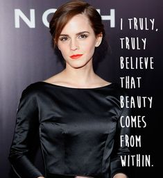 …But she's not hung up on appearance… | 21 Amazing Emma Watson Quotes That Every Girl Should Live Their Life By