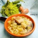 Minestra di broccolo con arzilla - Ricetta regionale