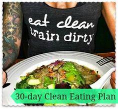 The 7 Day Shredding Meal Plan!
