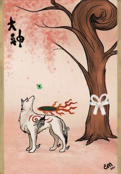 Okami Amaterasu by Liddelo on deviantART | Clover Studio | Capcom