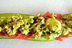 Komkommerrolletjes met avocado creme5