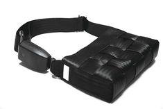 Upcycled Seat Belt Into Handbag Accessories