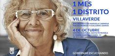 Gente de Villaverde: Manuela Carmena visita Villaverde