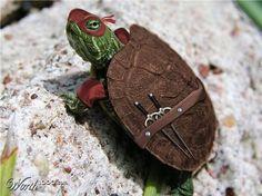 The Orignal Ninja Turtle...Turtle Power!